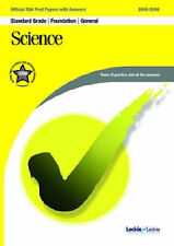Science FoundationGeneral SQA Past Papers