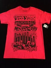 Zoo York Unbreakable Crimson Men's Cotton Red T-Shirt Size Medium New!