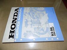 1993 1994 1995 1996 Honda CBR1000F Hurricane Factory Service Manual_OEM!