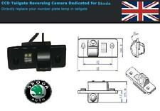 Skoda Octavia II MK2 Reverse Camera CCD Rear View Reversing Roomster Tour RS TDI