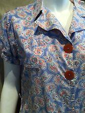 Original 1930s DAY DRESS Housedress Shirtwaist   40/38/42