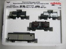 Märklin HO 4786 biens set historiquement pour 1930 sbb (rg/cg/013-45s1/1)