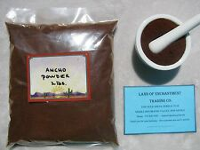 NEW MEXICO PURE ANCHO CHILE POWDER  2 POUNDS  Fresh!!  *Free Shipping for USA*