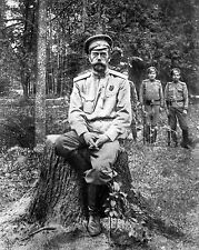 NEW 8x10 A photograph of Czar Nicholas II taken after his abdication  March 1917