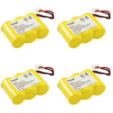 4x Cordless Phone Battery for Sanik S-SJC 3N-270AA ZG Sanyo 23618 MTM GES-PCH03