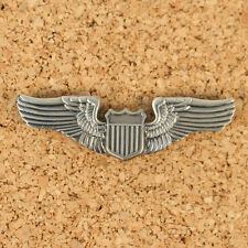US WW2 Style Metal USAAF Pilots Wings. Shirt Size AB544