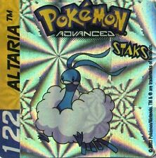 ≈Ω STAKS MAGNET POKEMON ADVANCED N° 122 ALTARIA HOLO