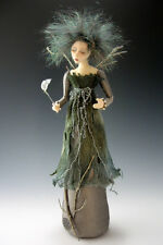 "*NEW* CLOTH ART DOLL (E-PATTERN) ""SILVANNA"" BY CINDEE MOYER"