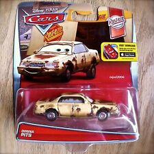Disney PIXAR Cars DONNA PITS diecast RUST-EZE theme 2/12 rusty junker PITTS 2016