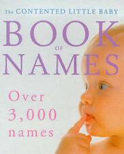 The Contented Little Baby Book of Names, Gillian Delaforce