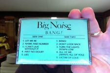 Big Noise- Bang!- new/sealed promo cassette