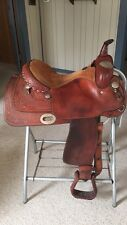 "Billy Cook Longhorn 16"" Seat Western Pleasure Show Saddle"