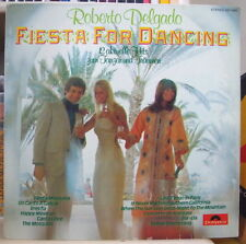 ROBERT DELGADO FIESTA FOR DANCING GERMAN PRESS LP POLYDOR 1973