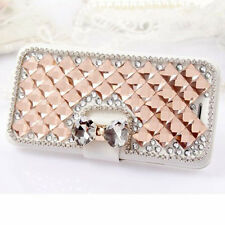 2016 Luxury Bling Bowknot Crystal Diamond Wallet Flip Case Cover For ZTE