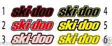 (x2) SKIDOO ski-doo Graphic Kit 12x3'' TRAILER  DECAL STICKER can am snowmobile