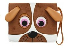 TabZoo Universal App Folio Case with Built-in Stand for 7-8 inch Tablets Dog