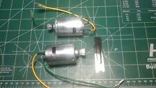 new complete tamiya clodbuster & bullhead motors motor with pinions lot