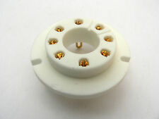FU50 GU50 LS50 8 pin Ceramic Valve Chassis Socket with Gold plated contacts