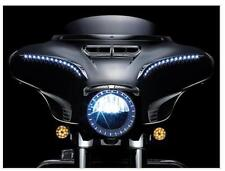 Kuryakyn 7753 Chrome Lighted LED Bat Lashes for 2014-2016 Harley Touring FL 6904