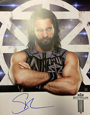 """Official WWE - Signed 11"""" x 14"""" Hand Signed Photo / Poster - Seth Rollins"""