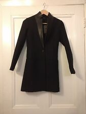 Sold out! Authentic All Saints Lorie Ink wool coat size 4UK RRP £298