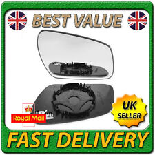 Right Driver Off Side Heated Wing Mirror Glass for FORD FOCUS C-MAX 2003-2007