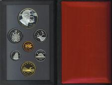 Canada 1995 Double Dollar $1 Proof Coin Set Silver COA No Box Hudson's Bay COA