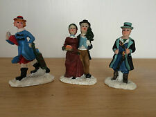 Lot Of 17 Christmas Small Figurines Holiday Decoration Village Ornaments