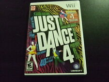 Replacement Case (NO GAME) JUST DANCE 4 NINTENDO WII
