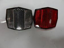 Bike Front & Rear Satelite Reflector SL-121-H  2 1/8 x 1 3/4  inch for  Bicycle
