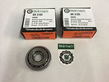 OEM Land Rover Defender Lower Bearing Swivel Pin Housing 606666 / BR3185 x 2