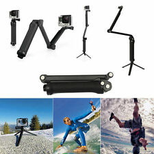 Impugnatura regolabile 3-way Selfie Bastone Monopiede Treppiede Arm Mount GoPro Hero 4 3 5