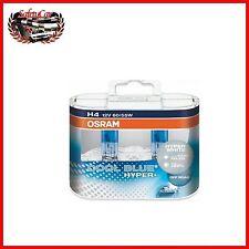 Kit Lampade Alogene fanali Auto Osram H4 Cool Blue Hyper+