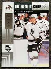 2011-12 VIATCHESLAV VOYNOV SP GAME USED AUTENTIC ROOKIES #156 LA KINGS #694/699