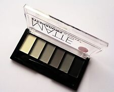 Technic Matte Eye Shadow Palette Smokey Greys