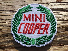 ECUSSON PATCH THERMOCOLLANT aufnaher toppa MINI COOPER automobile sport auto