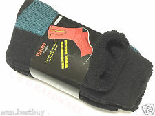 3 pairs x Size 11-14 Heavy Duty Work Ski Wool Socks Extreme Double Layer---