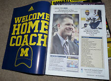 WELCOME HOME JIM HARBAUGH UNIVERSITY OF MICHIGAN THE WOLVERINE Magazine Feb 2015