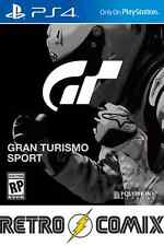 PS4 GRAN TURISMO SPORT BRAND NEW AND SEALED ***PRE-ORDER***