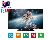 "SONIQ 65"" 4K UHD 3D Smart LED LCD TV (REFURBISHED) T2U65TX14A"