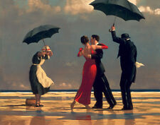 Jack Vettriano greeting card - The Singing Butler