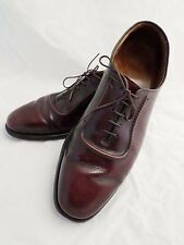 ALLEN EDMONDS Belgium cordovan leather oxfords dress shoes 9.5D