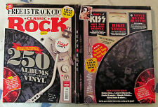 CLASSIC ROCK Mag + Free CD 250 VINYL ALBUMS You Must Own BOOTLEGS Lost CLASSICS