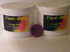 1-Kilo Flexi-Gum Silicone Putty Rubber Mould Making-RTV-Metal Clay-Icing-Cakes