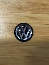 New Style Volkswagen VW Key Fob Remote Metallic Badge Logo Sticker 12mm