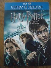 LOT BLU-RAY * Harry Potter et les Reliques de la Mort 1ere 2e partie * Ultimate