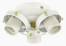 Savoy House 3 Light White Ceiling Fan Light Kit (FLC305-WH)