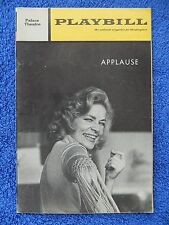 Applause - Palace Theatre Playbill - March 1971 - Lauren Becall