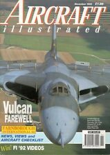 AIRCRAFT ILLUSTRATED NOV 92 WW2 RAAF AUSTRALIA CA-13_RAF AVRO VULCAN_LUFTWAFFE