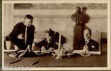 Conciliazione Italia Vaticano Il Cardinale Gasparri firma le credenziali PC 1929